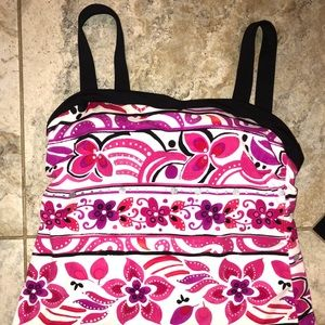 MiracleSuit Tankini Top, Size 10